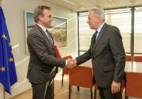 Visite de Mark Harbers, secrétaire d'État néerlandais en charge de la Justice et de la Sécurité, à la CE