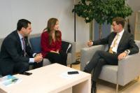 Visit of Juan Manuel Moreno Bonilla, President of the Spanish PP (Popular Party) of Andalousia, to the EC