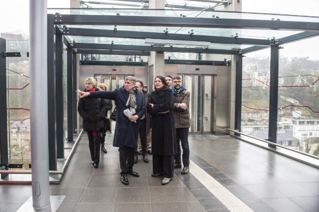 Visit by Violeta Bulc, Member of the EC, to Luxemburg