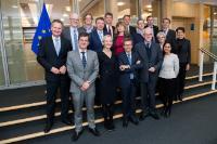 Visite de membres du groupe de haut niveau sur les technologies clés génériques (KET), à la CE