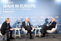 Participation of Jean-Claude Juncker, President of the EC, at the event '40 years of Spain in Europe: A common future'