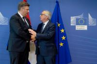 Visit of Andrej Plenković, Croatian Prime Minister, to the EC