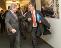 Visite de Achim Steiner, administrateur du Programme des Nations unies pour le développement (PNUD), à la CE.