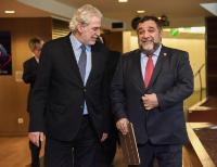 Visite de Ruben Vardanyan, co-fondateur de Initiatives for Development of Armenia (IDeA), à la CE