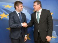 Visit of Tomislav Ćorić, Croatian Minister for the Protection of the Environment and Energy, to the EC