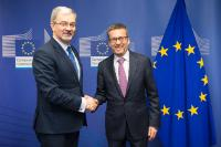Visit of Jerzy Kwieciński, Polish Minister for Investment and Development, to the EC