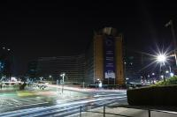 Earth Hour 2018: the facades of the Berlaymont building gone dark!