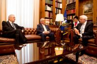Visit of Jean-Claude Juncker, President of the EC, to Greece