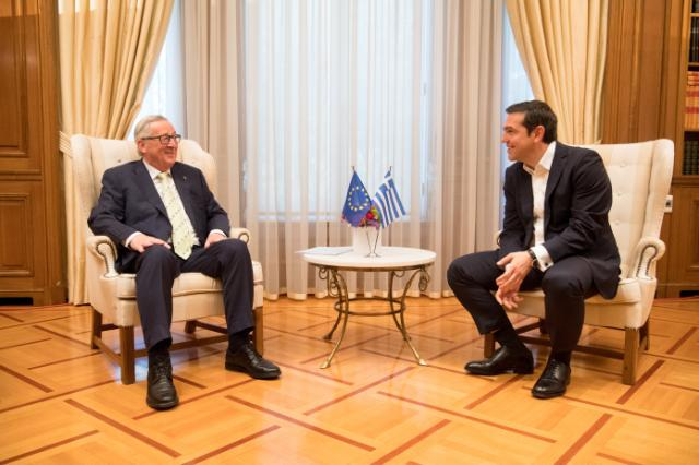Visit by Jean-Claude Juncker, President of the EC, to Greece