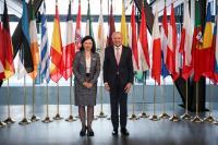 Visite de Vĕra Jourová, membre de la CE, à Luxembourg