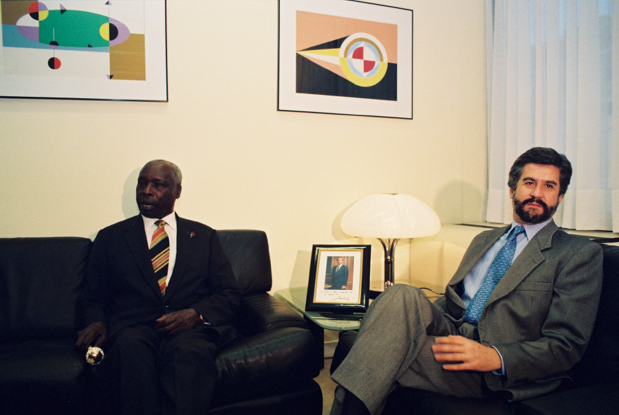 Visit of Daniel Arap Moi, President of Kenya, to the EC