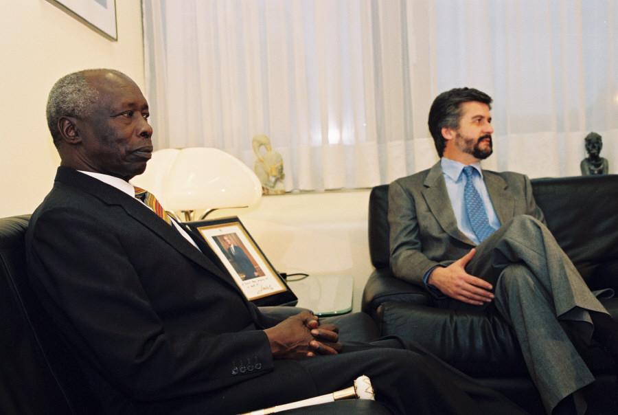 Visit of Daniel Arap Moi, President of Kenya, to the EC