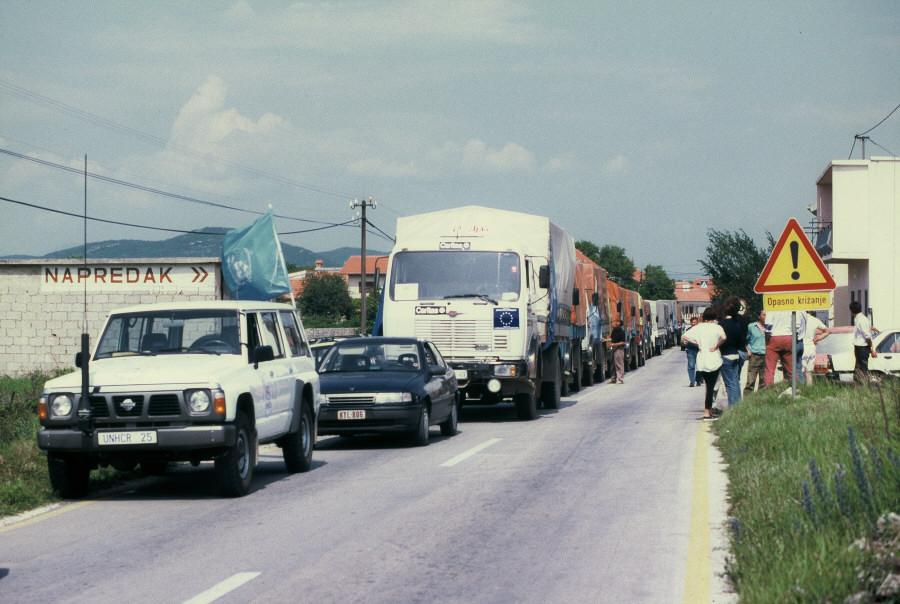 Aide humanitaire communautaire à l'Ex-Yougoslavie
