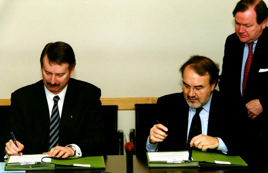 Signature de l'évaluation conjointe des priorités de la politique économique estonienne