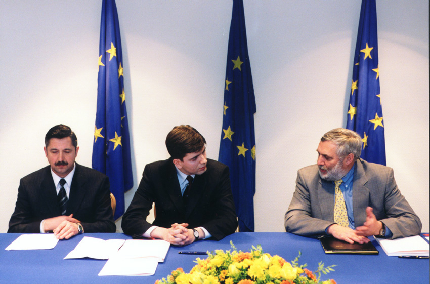Signature of an EU-Lithuania financing agreement in the framework of membership