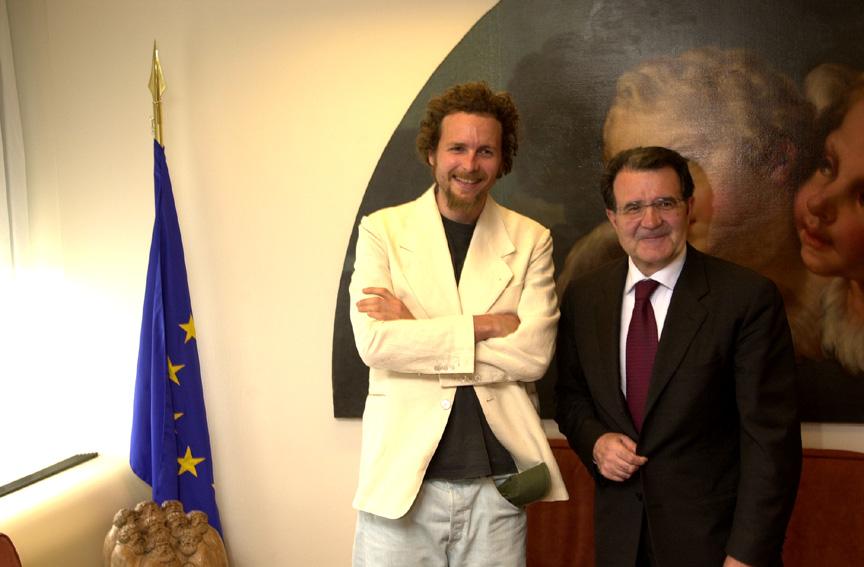 Visit by Lorenzo Jovanotti, Italian singer, to the EC