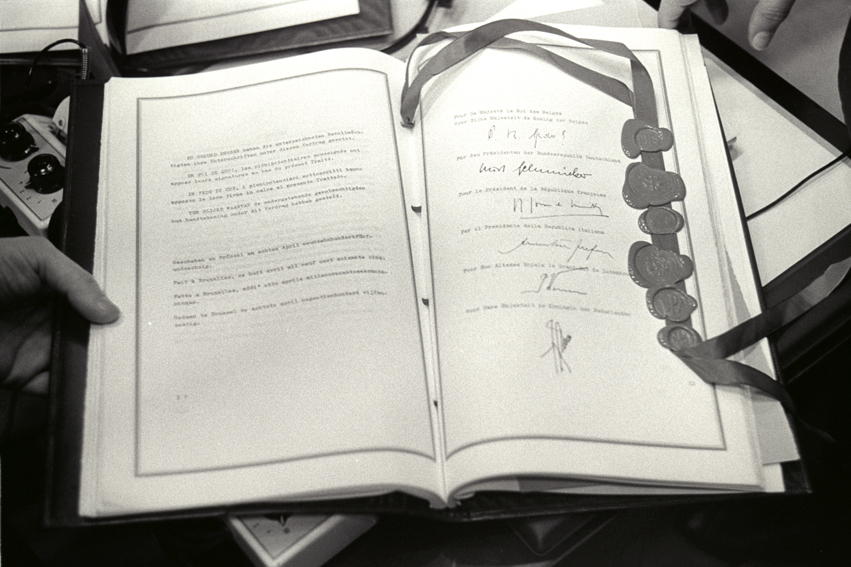50e anniversaire des Traités de Rome