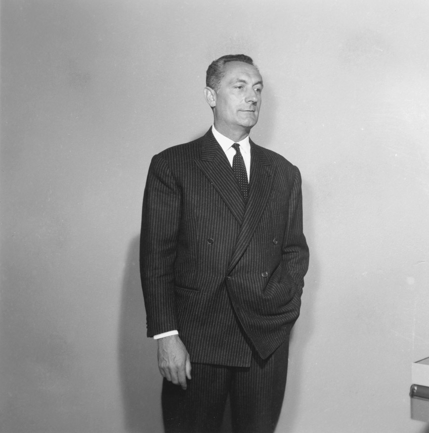 Louis Georges Rabot, Director-General at the Commission of the EEC