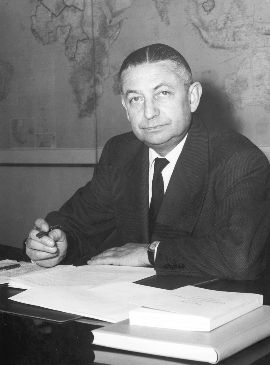 Henri Rochereau, Member of the Commission of the EEC