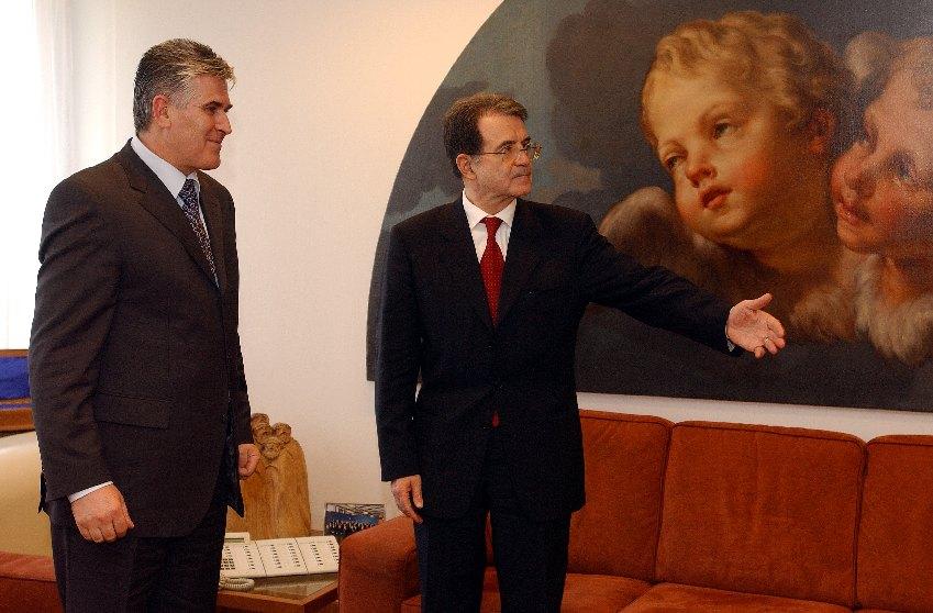 Visit of Bajram Rexhepi, Kosovan Prime Minister, to the EC