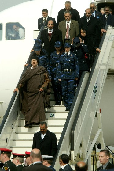 Visit of Muammar al-Gaddafi, Guide of the Great Revolution of the Great Socialist People's Libyan Arab Jamahiriya, to the EC