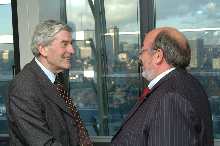 Visit of Visit of Ruud Lubbers, UN High Commissioner for Refugees, to the EC