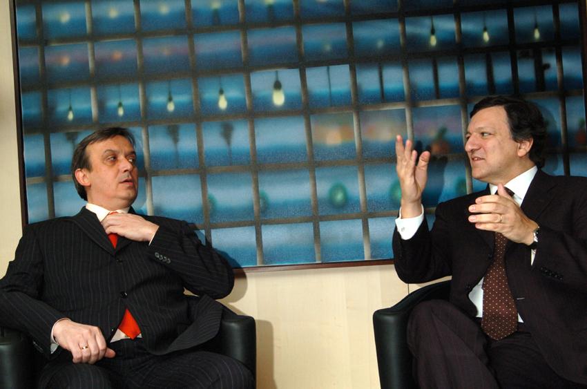 Visite d'Adnan Terzić, Premier ministre de la Bosnie-Herzégovine, à la CE