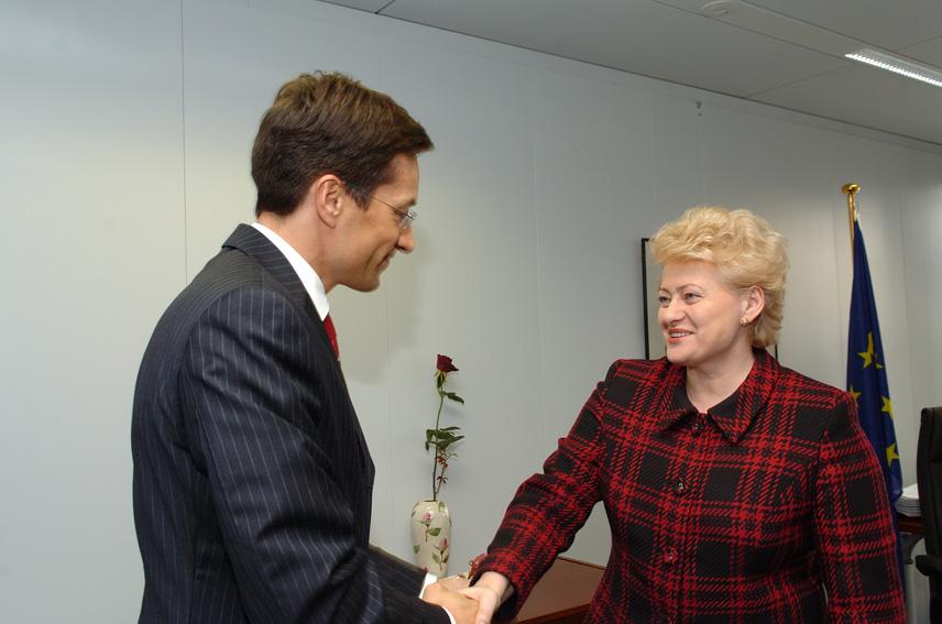 Visit of Karl-Heinz Grasser, Austrian Federal Minister for Finance, to the EC