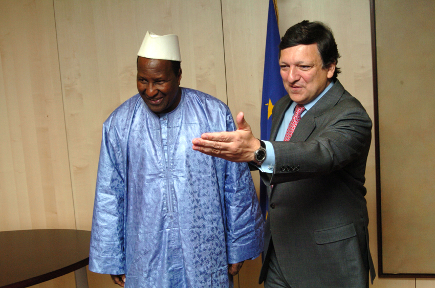 Visit of Alpha Oumar Konaré, President of the Commission of the African Union, to the EC