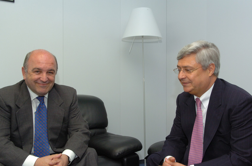 Visit of Klaus-Peter Müller, Chairman of the Board of Commerzbank, to the EC