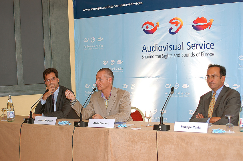 Participation of the Audiovisual Service of the EC at the Mipcom