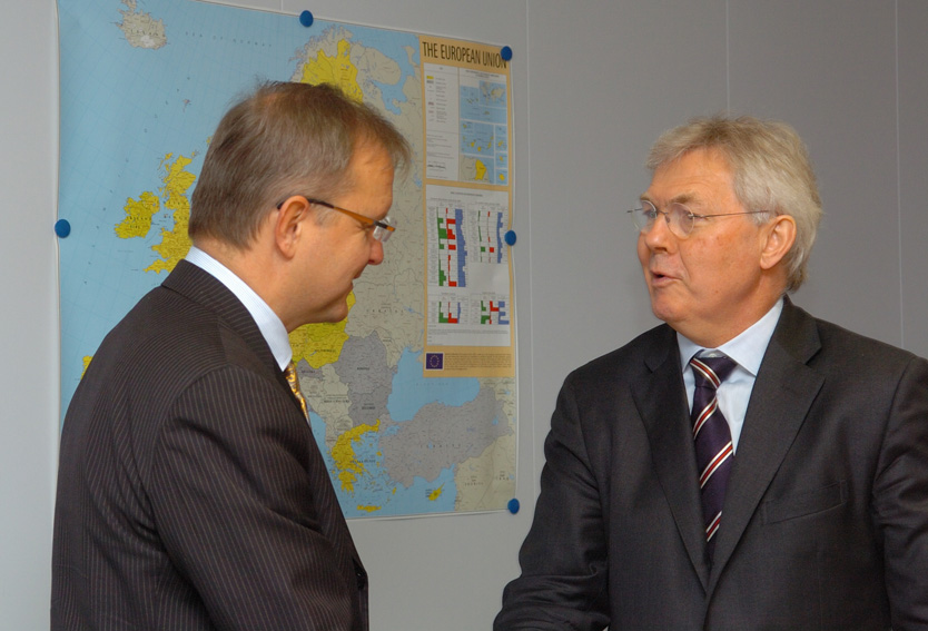 Visit by Søren Jessen-Petersen, Special Representative of the UN Secretary General to Kosovo, to the EC