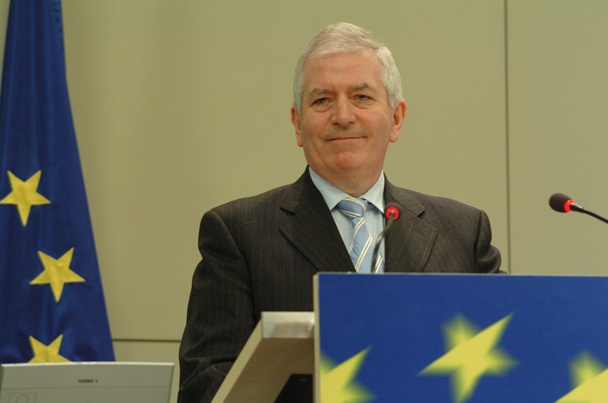 Press conference by Charlie McCreevy, Member of the EC, on a Directive to facilitate the cross-border exercise of shareholders' rights in listed companies