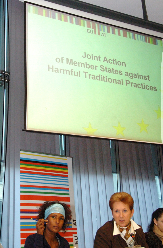 Participation of Benita Ferrero-Waldner and Vladimír Spidla, Members of the EC, to the conference Joint Action of Member States against Harmful Traditional Practices