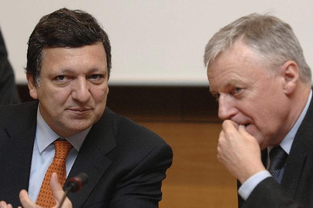 José Manuel Barroso, president of the EC, at the conference Does the Lisbon process produce Sustainable Development?