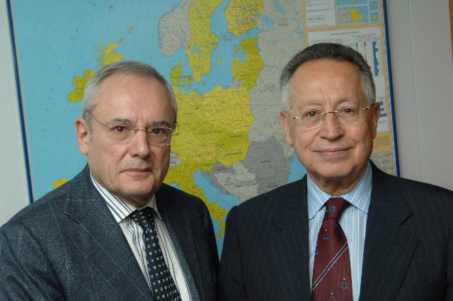 Visit by Efthimios Mitropoulos, Secretary General of the IMO, to the EC