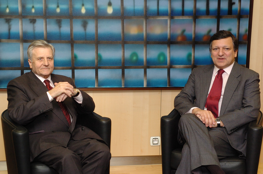 Visit by Jean-Claude Trichet, President of the ECB, to the EC