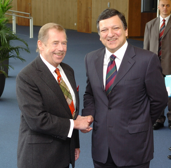 Visit by Václav Havel, Former President of the Czech Republic, to the EC