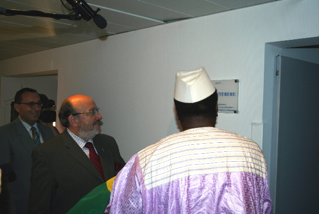 Inauguration of the Julius Nyerere conference room at the DG Development of the EC