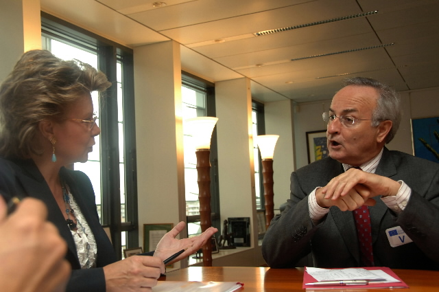 Visit by Bernard Miyet, Chairman of the European Grouping of Societies of Authors and Composers, to the EC
