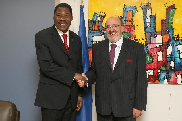 Visite by Boni Yayi, President of Benin, to the EC