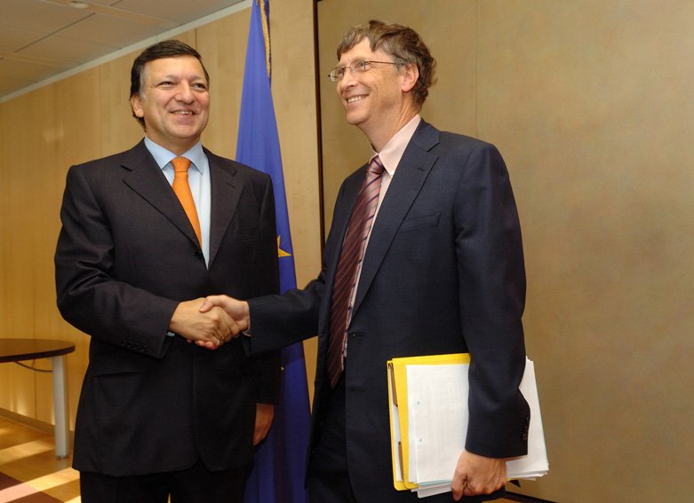 Visit by Bill Gates, co-Chairman of the Bill & Melinda Gates Foundation, to the EC