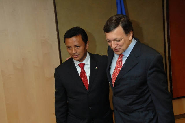 Visit by Marc Ravalomanana, President of Madagascar, to the EC