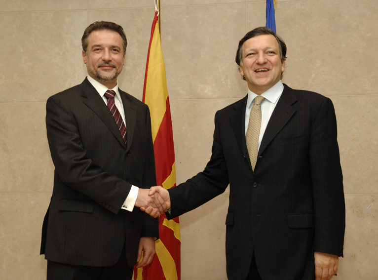 Visit by Branko Crvenkovski, President of the former Yugoslav Republic of Macedonia, to the EC
