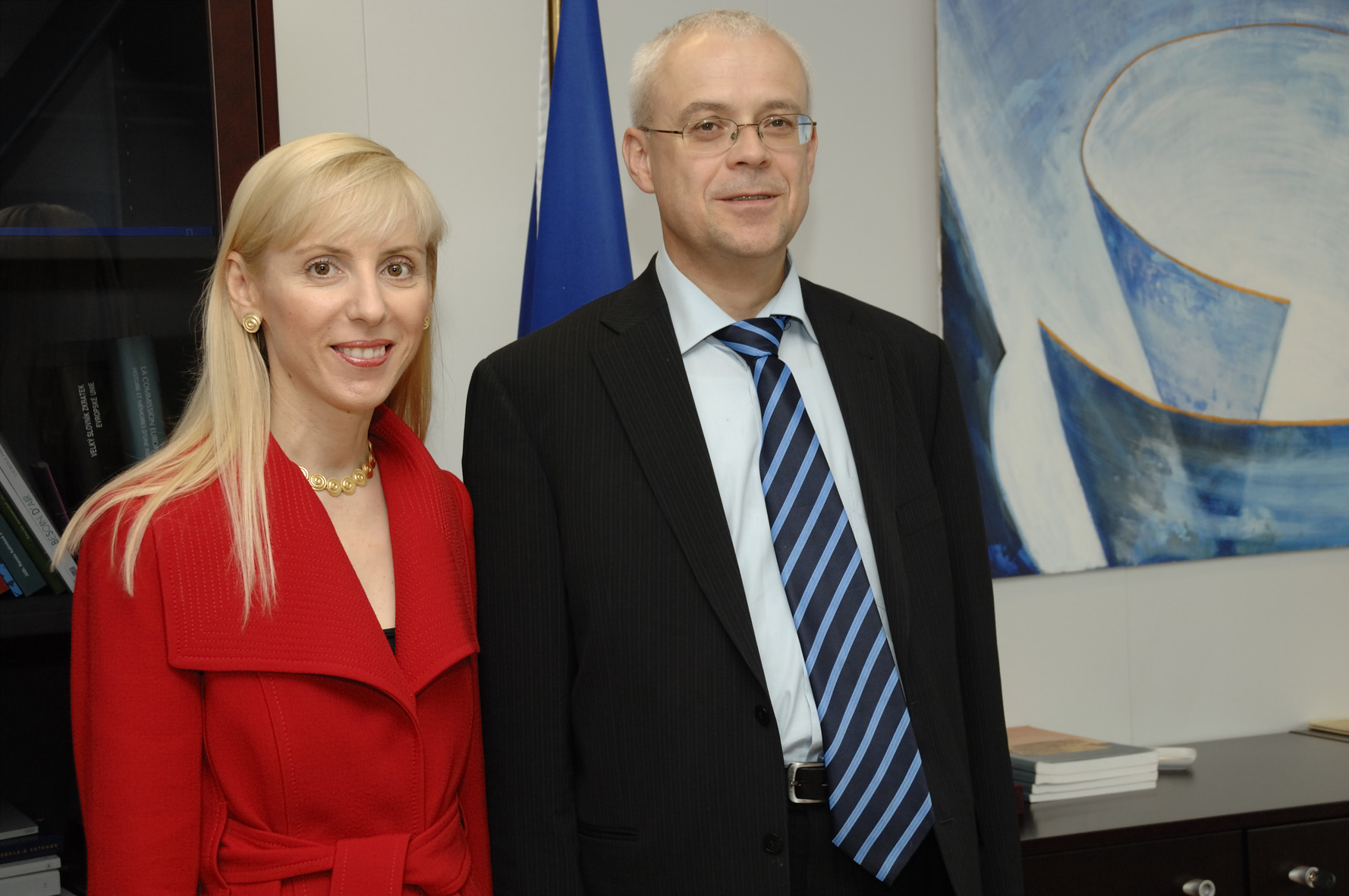 Visit by Martha Theodorou, Head of Department at the Greek Economic and Social Council, to the EC