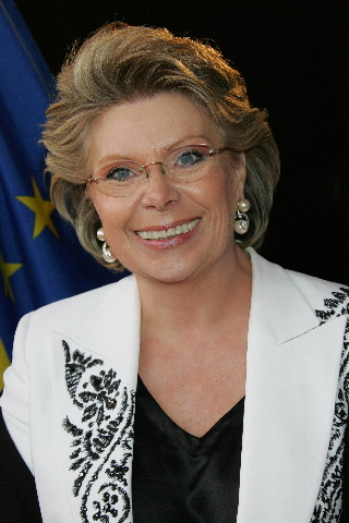 Participation of Viviane Reding in the Rome Film Festival