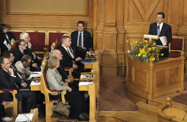 Visit by José Manuel Barroso, President of the EC, to Sweden