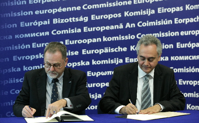 Signing of a EUROJUST/OLAF agreement to reinforce their cooperation in the fight against financial crime