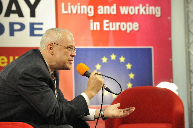 Participation of Vladimír Špidla, Member of the EC, at the European Job Day at the EC headquarters