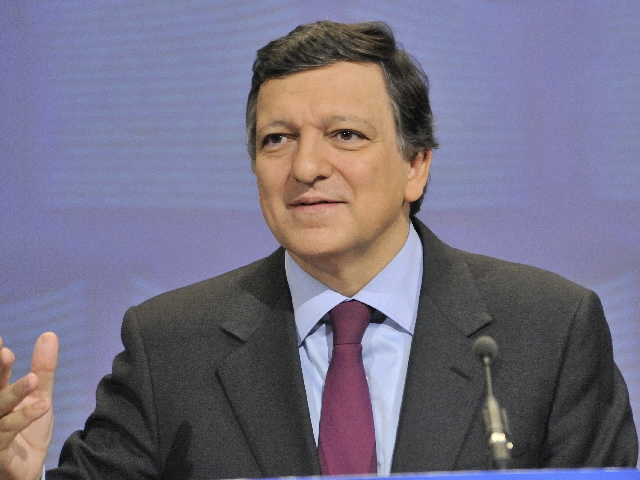 Participation of José Manuel Barroso, President of the EC, and Joaquín Almunia, Member of the EC, in a press conference